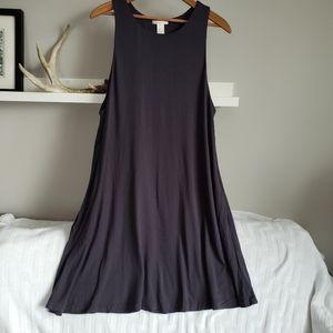 H&M Basic Sleeveless Swing Dress w/ Pockets M